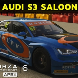Forza 6 Apex - Audi S3 Saloon at Spa-Francorchamps with G27 (PT-BR)