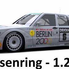 RaceRoom Setups - DTM92 Mercedes 190E Evo II DTM - 1.23.411 LB*