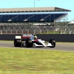 Mclaren MP4/6 Assetto Corsa gameplay