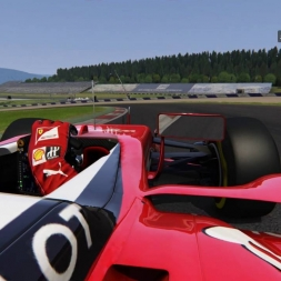 Assetto Corsa Red Bull Ring GP Ferrari SF15-T 1:08:750 HOT LAP