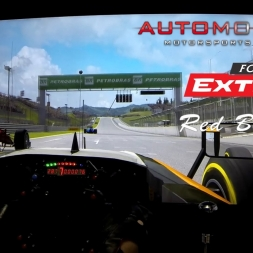 ONBOARD CAM: Formula Extreme - Red Bull Ring. Automobilista. AccuForce. Triple Screens.
