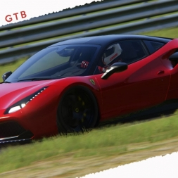 Assetto Corsa Ferrari 488 GTB Inspired the Red version Novitec + download