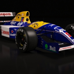 Williams FW14 silverstone Assetto Corsa
