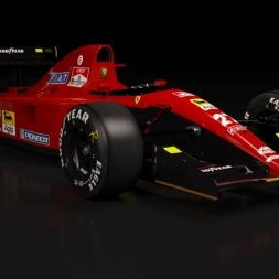 Ferrari 643 lap at Spa Assetto Corsa