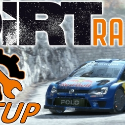 DiRT Rally TOP 70 - VW Polo - Monaco SETUP - Wheel & Controller - [4K] - Mods