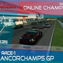 RaceRoom | GTR3/S1: Online Championship`16 (R1/ Race-1 Spa Francorchamps GP)