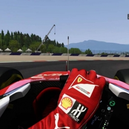 Red Bull Ring GP Ferrari SF15-T HoT LaP 1:08:117