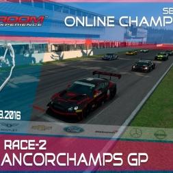 RaceRoom | GTR3/S1: Online Championship`16 (R1/ Race-2 Spa Francorchamps GP)