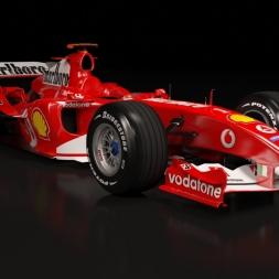 Ferrari F2004 Assetto corsa gameplay