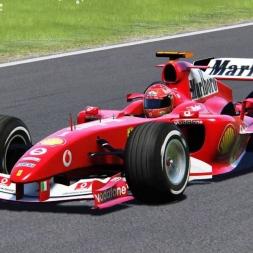 Monster start! | Assetto Corsa Gameplay | Ferrari F2004 race at Red Bull Ring |