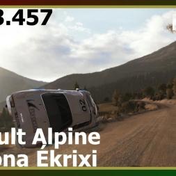 Dirt Rally - Renault Alpine A110 - Pomona Ékrixi