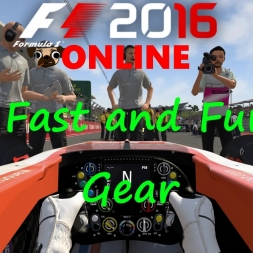F1 2016 Online: Grab the Fast N Furious gear