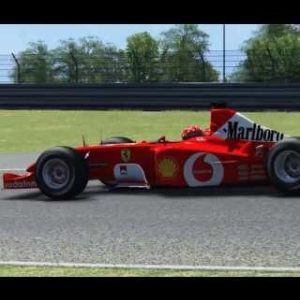Ferrari F2002 gameplay Assetto Corsa