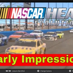 Nascar Heat Evolution Early Impressions racing at Atlanta