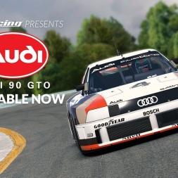 iRacing.com / Audi 90 IMSA GTO / Sebring