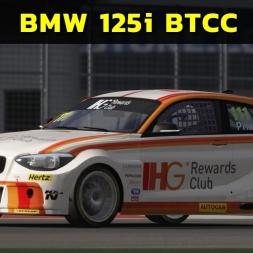 Assetto Corsa  - BMW 125i M BTCC at Silverstone (PT-BR)