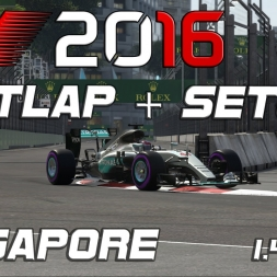 F1 2016 | Setup + Hotlap | Singapore | 1.40.584 [PC]