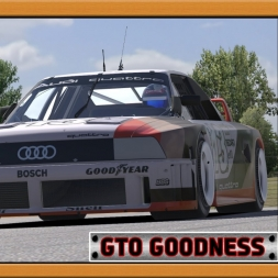 """iRacing: GTO Goodness"" (Audi 90 GTO at Mid-Ohio SportsCar Course)"