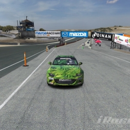 iRacing Global Mazda MX5 Cup Laguna Seca GP final position 1th