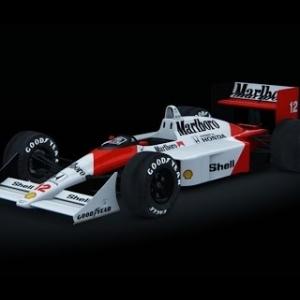 Mclaren MP4/4 Assetto Corsa gameplay