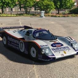 Porsche 962c at Imola | Assetto Corsa gameplay