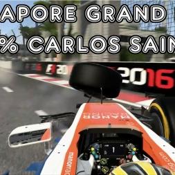 F1 2016 - Singapore Grand Prix - 50% - Carlos Sainz