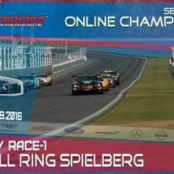 RaceRoom | GTR3/S1: Online Championship`16 (R2/Race-1 Red Bull Ring Spielberg)