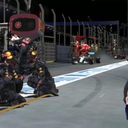 Max Wins GP F1 Singapore