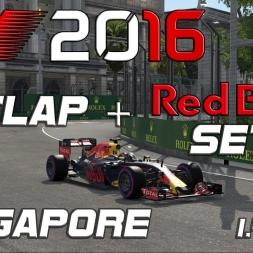 F1 2016 | Setup + Hotlap | Red Bull | 1.41.046 [PC]