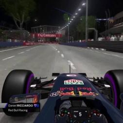 F1 2016 Ricciardo Onboard Singapore