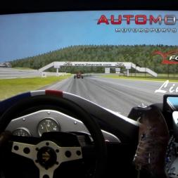 ONBOARD CAM: Formula Vee - Lime Rock. Automobilista. AccuForce. Triple Screens.