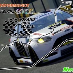 Assetto Corsa - MOD - Ford Focus BTCC@ Macau Ghia Gran Prix - PC 60FPS