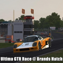 Ultima GTR Race @ Brands Hatch - Automobilista 60FPS