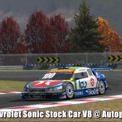 Chevrolet Sonic Stock Car V8 @ Autopolis - Automobilista 60FPS
