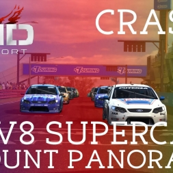 Grid Autosport | Mount Panorama - V8 Supercars - Crash