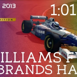 F1 Classics | Brands Hatch - Williams FW18 - 1:01.567