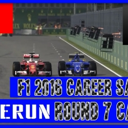 F1 2016 Career Mode Sauber - Round 7 huh Canada again what??!!