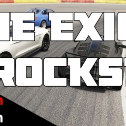 Another pub race mayhem + The Exige Scura rocks! Assetto Corsa pubracing @ Spa-Francorchamps