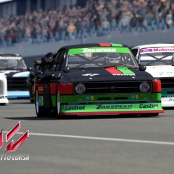 Assetto Corsa - Mod Zakspeed Ford Escort MK II - Nurburgring - Gameplay [Brasil] [PT BR]
