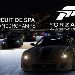 Forza 6 Apex | Lamborghini Aventador @ Circuit de Spa-Francorchamps