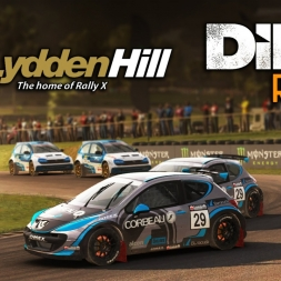 DiRT Rally | Rallycross | Peugeot 207 S1600 @ Lydden Hill - Full Course
