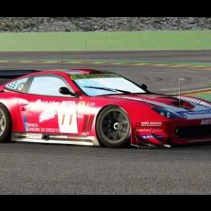 Assetto Corsa 1.8.1 Ferrari 550 GTS-V6(Top sounds)