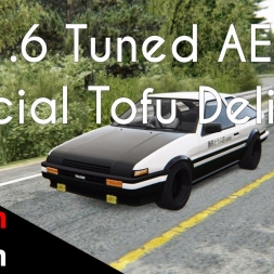 Assetto Corsa Japanese DLC  Initial D AE86 Tofu Delivery ( AE86 vs. Mt. Akina / Mt. Haruna )