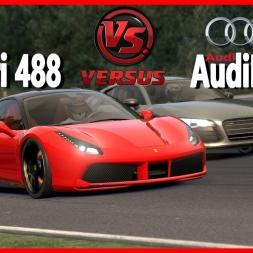 ★ Assetto Corsa - Ferrari VS Audi