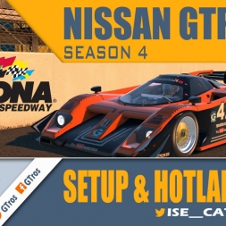 iRacing Nissan GTP ZX-T @ Daytona Road | Setup & Hotlap 1'35.173 | Season 4 - 2016