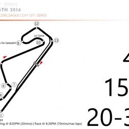 URL-GT1 - Season 14 - Round 2 - Barcelona