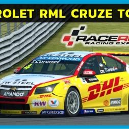Raceroom - Chevrolet RML Cruze TC1 at Shangai (PT-BR)