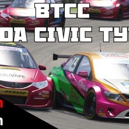 BTCC mod for Assetto Corsa - Honda Civic Type-R