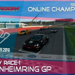 RaceRoom | GTR3/S1: Online Championship`16 (R3/Race-1 Hockenheimring)