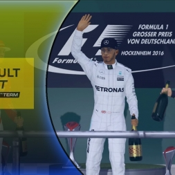 F1 2016 Career Mode Part 10: First Podium!